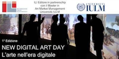 NEW DIGITAL ART DAY L'arte nell'era digitale