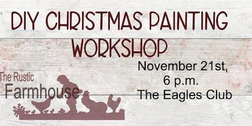 DIY Christmas Painting Workshop