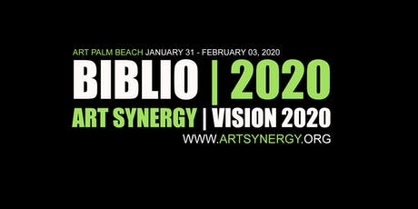 BIBLIO 2020 | Art Synergy | Art Palm Beach tickets