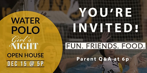 North Allegheny Tiger Water Polo - Girl's Open House