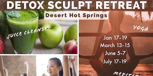 Detox Sculpt Retreat - New Year!