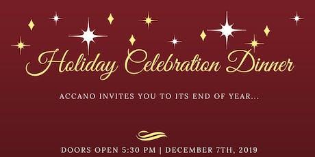 Holiday Celebration Dinner tickets