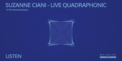 Suzanne Ciani - LIVE Quadraphonic : LISTEN (10pm General Admission)