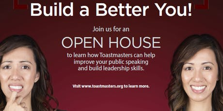 Build a Better You!  - Aspiring Royal Toastmasters Open House! tickets