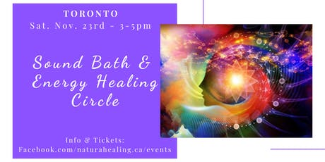 Sound & Energy Healing Circle tickets