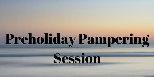 Preholiday Pampering Session