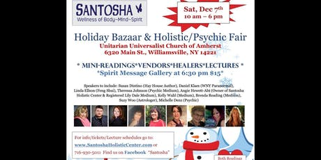 Holiday Bazaar & Holistic/Psychic Fair tickets
