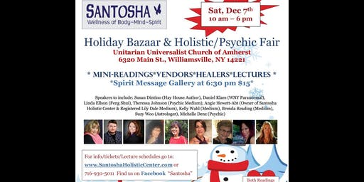Holiday Bazaar & Holistic/Psychic Fair