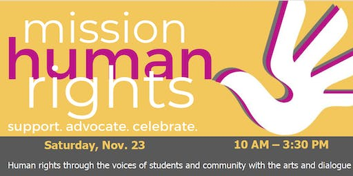 Mission Human Rights:  Support. Advocate. Celebrate.