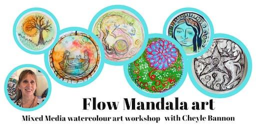 Flow Mandala Painting