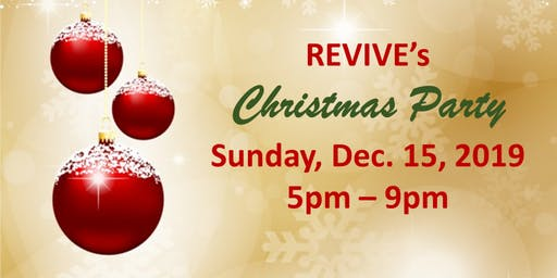 Revive Holiday Party