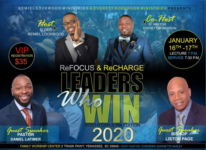 Events Sc 2020.Leaders Who Win 2020 South Carolina Edition