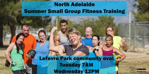 Summer Small Group Fitness Training