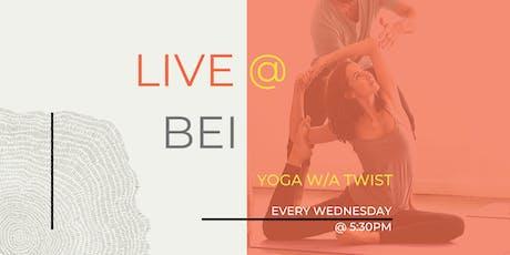 Wednesday's YOGA w/a Twist tickets