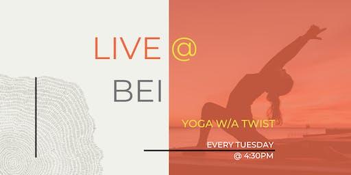 Tuesday's YOGA w/a Twist
