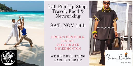 Fall Pop-up Shop/Networking