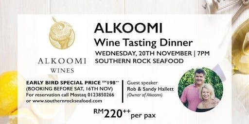 Alkoomi Wine & Premium Seafood Tasting Dinner