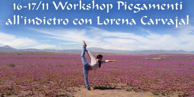 WORKSHOP YOGA: piegamenti all'indietro.