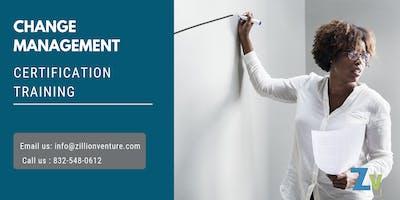 Change Management Certification Training in Wichita, KS