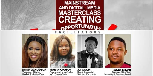 Mainstream & Digital Media Masterclass Creating Opportunities for SMEs