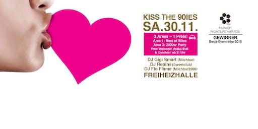 Kiss the 90ies - Münchens größte 90er Party!