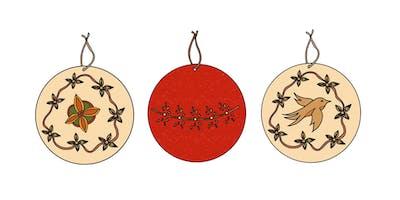 Sip & Stitch - Christmas Workshop