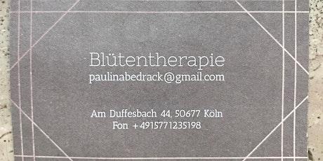 Bachblüten Workshop mit Paulina Tickets