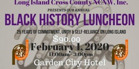 2020 Silver Anniversary Black History Luncheon tickets