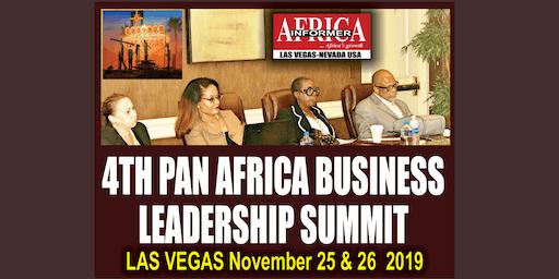 4th Pan Africa Business Leadership Summit, Las Vegas