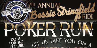 "7th Annual Bessie Stringfield Ride ""Historical Poker Run"""
