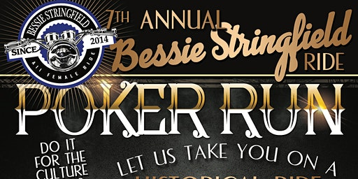 "7th Annual Bessie Stringfield Ride ""Historical Poker Run"""