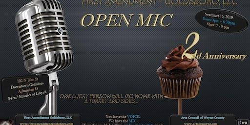 First Amendment - Goldsboro, LLC Open Mic