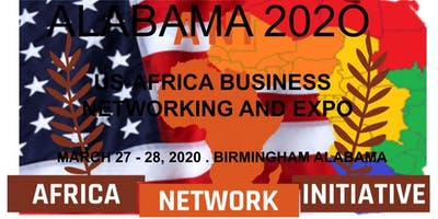 ALABAMA 2020. US-AFRICA BUSINESS NETWORKING & EXPO.
