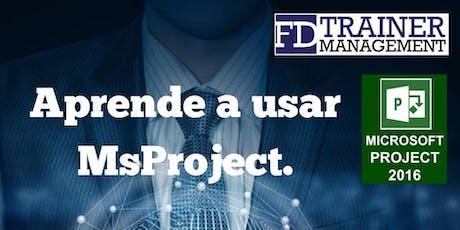 MasterClass MsProject Santo Domingo tickets