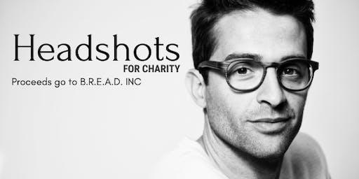 Headshots for charity
