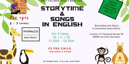 Storytime and Songs in English