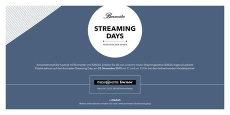 Burmester Streaming Days 2019 bei media@home ferner in Braunschweig Tickets