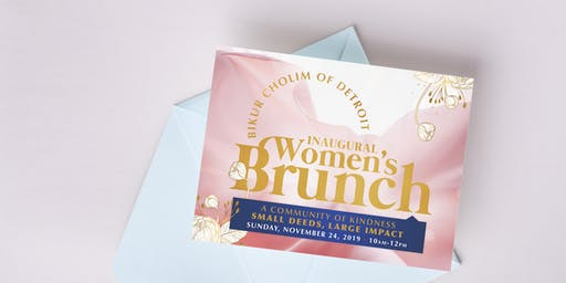 Bikur Cholim of Detroit Inaugural Women's Brunch