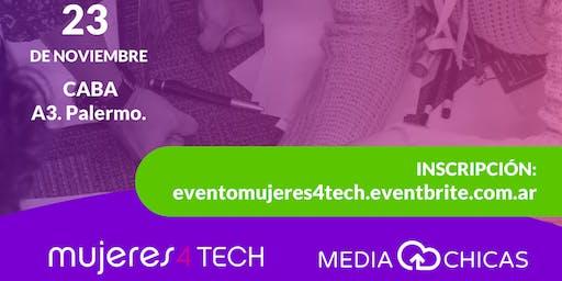 Mujeres4Tech 2019: Mujeres en la era digital