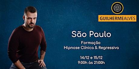 São Paulo - Formação Hipnose Clínica & Regressiva com Guilherme Alves ingressos