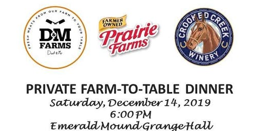 D&M Farms Private French Inspired Chef Prepared Farm To Table Dinner
