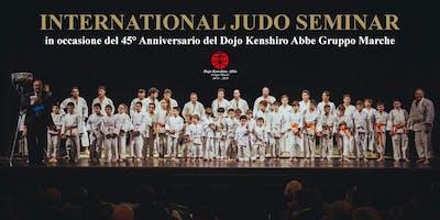 International Judo Seminar 2019 con il Maestro Katsuhiko Kashiwazaki 8° Dan