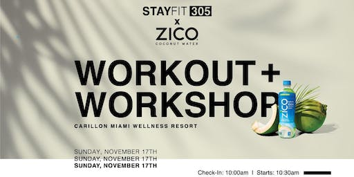 Workout + Workshop