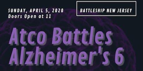 Atco Battles Alzheimer's 6 tickets
