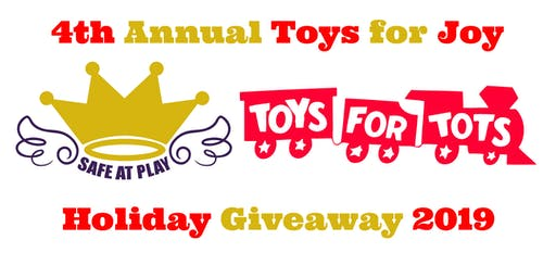 4th Annual Toys for Joy Holiday Giveaway