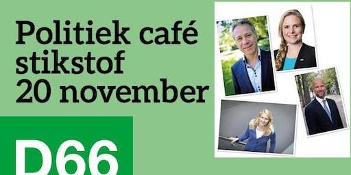 Politiek café over stikstof met Rutger Schonis en Rik Grashoff