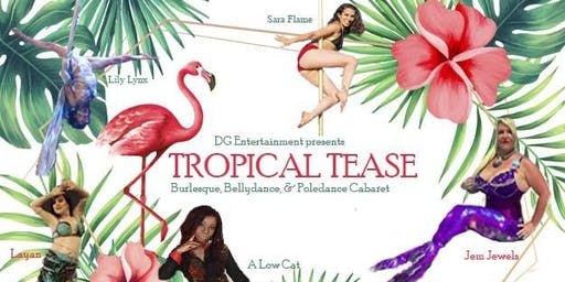 Holiday Tropical Tease, Burlesque Cabaret