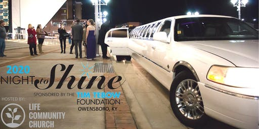 Night to Shine 2020 sponsored by the Tim Tebow Foundation, hosted by Life Community Church