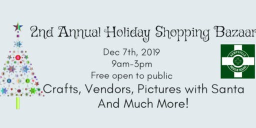 Kempsville Volunteer Rescue Squad's  2nd Annual Holiday Shopping Bazaar