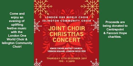 London One World Choir & Islington Community Choir Christmas Concert tickets